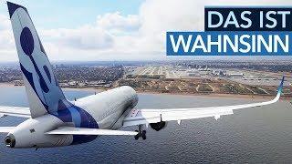 Der Flight Simulator zeigt unglaubliche Technik