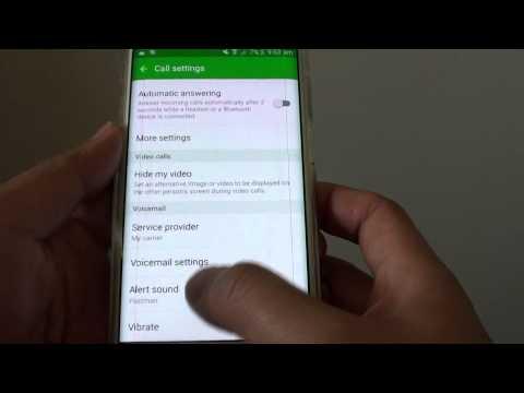 Samsung Galaxy S6 Edge: How to Change Voicemail Alert Sound