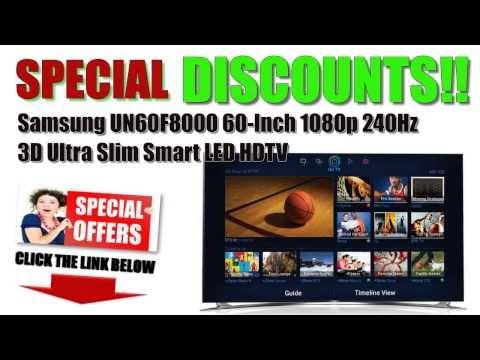 [Samsung Smart LED HDTV BEST BUY!] Samsung UN60F8000 3D Ultra Slim Smart LED HDTV BEST OFFERS?