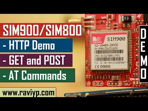 SIM900 GPRS HTTP AT Commands