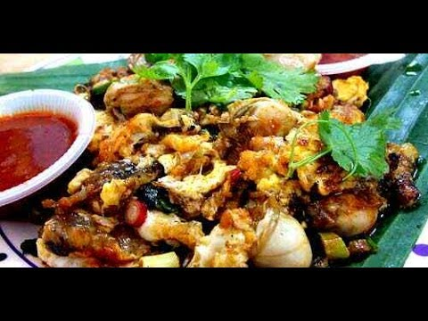 Fried Oyster Omelette (Oh Chien) Melaka, Malaysia Without Borders