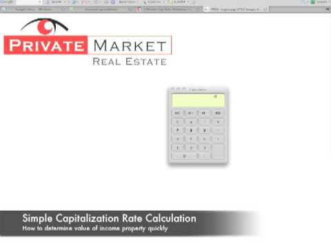 How to Calculate Rental Property Value by Cap Rate