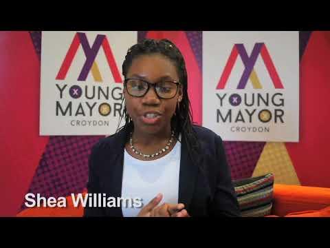 Croydon Young Mayor candidate - Shea Williams