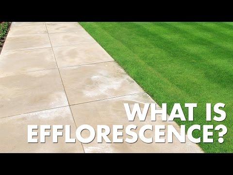 Porous Materials - Common Problems: Efflorescence