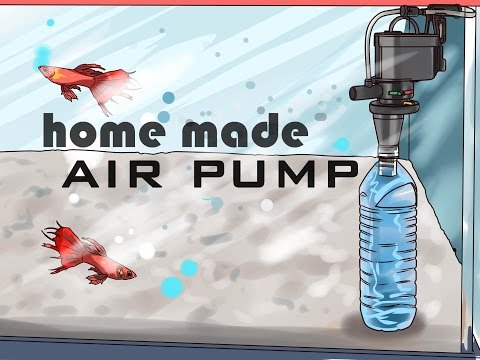 How To Make Air Pump For Fish Tank Aquarium In 1$ Dollar