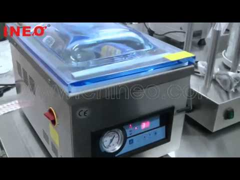 Table top automatic food vacuum packing machine