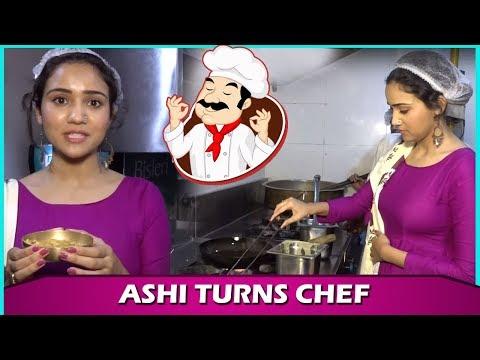 Xxx Mp4 Ashi Singh Aka Naina From Yeh Un Dinon Ki Baat Hai Turns Chef For Telly Reporter 3gp Sex