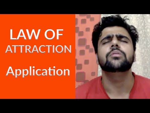 Law of attraction- Application | How to apply Law of attraction | Live Reposted | Part  2