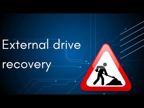 External Drive Recovery