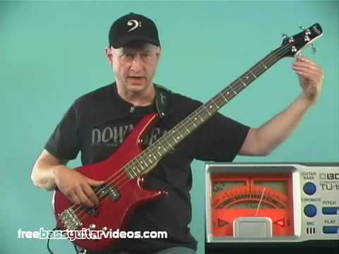 Beginner Lesson: Tuning Your Bass