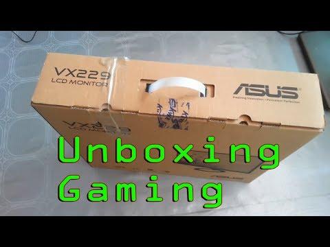 ASUS VX229HJ borderless 21.5 inch  Monitor Unboxing Bangla