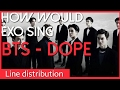 How would EXO sing BTS-Dope