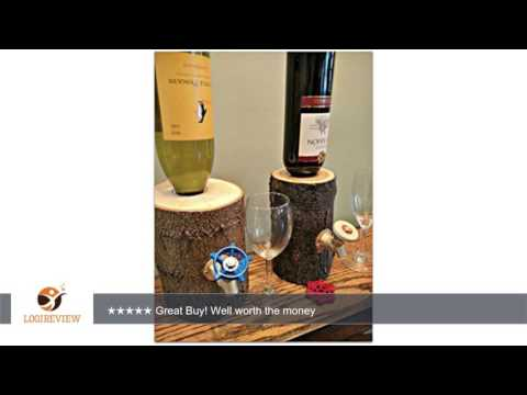 Log Wine Dispenser, New and Improved! Patent Pending | Review/Test