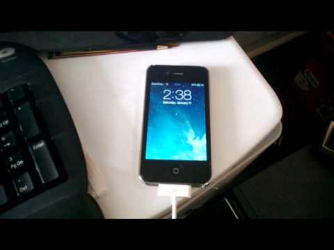 Jailbroken Verizon Iphone 4s 7.0.4 stuck after