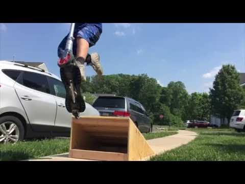 Making a Skateboard & Scooter Ramp
