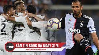 Bản tin Cảm Bóng Đá ngày 31/8 | PSG thắng nhẹ nhàng; Chiellini dính chấn thương nghiêm trọng