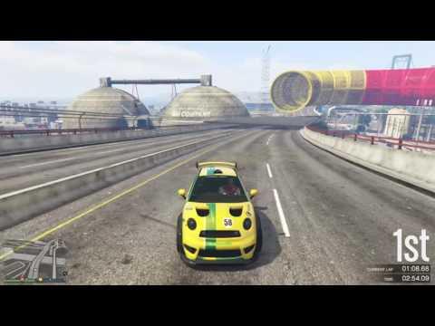 GTA 5 Premium 100k Stunt Race (Splits)
