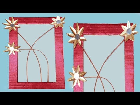 DIY Wall Decor Frame Showpiece