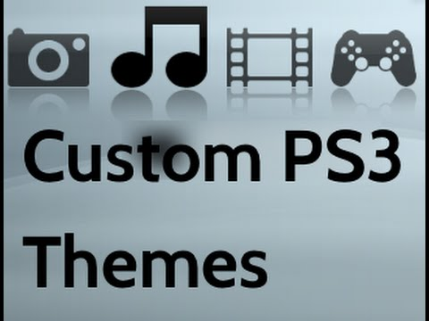 How to get custom themes on PS3