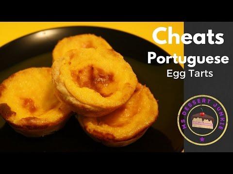 CHEATS PORTUGUESE EGG TARTS RECIPE  | MsDessertJunkie