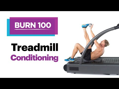 Treadmill Conditioning – Quick & Easy At-Home Workout Routine – SELF's Burn 100 Calories