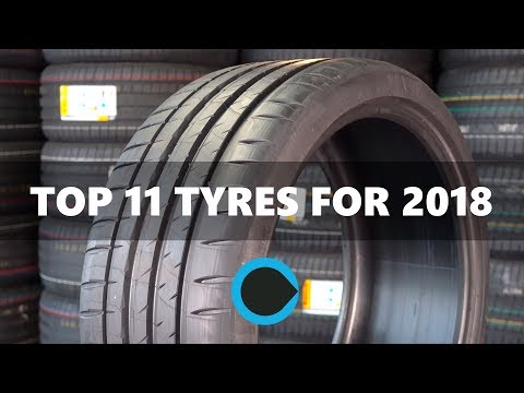 11 of the best car tyres for 2018