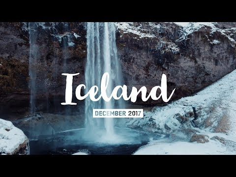 Flying a drone around Iceland - Winter VLOG