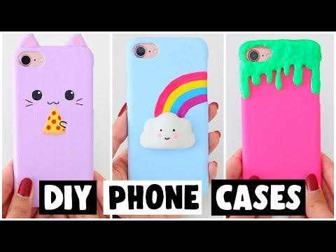 7 AMAZING DIY PHONE CASES! VIRAL Slime & Squishy Inspired Ideas!