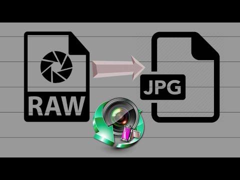 Convert RAW CR2 to JPEG image - Android EasyRAWConverter application.