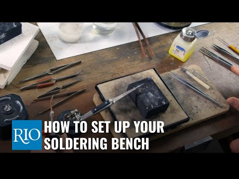 How To Setup Your Soldering Bench
