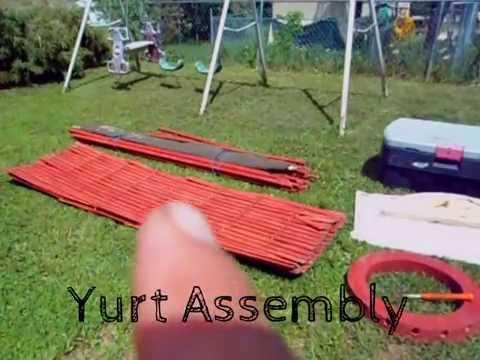 Camping Yurt Assembly