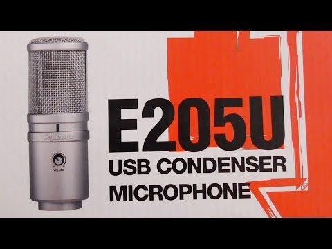 Superlux E205U - USB Condenser Microphone (Unboxing, Specs, Manual)