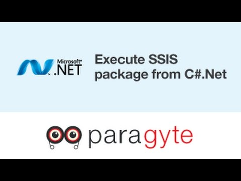 How to execute SSIS Package from C#.Net?