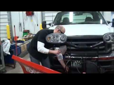 Changing BOSS Snowplow Hydraulic Fluid