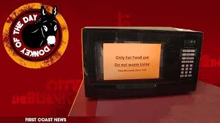 Florida Gas Station Warns People Not To Microwave Their Urine