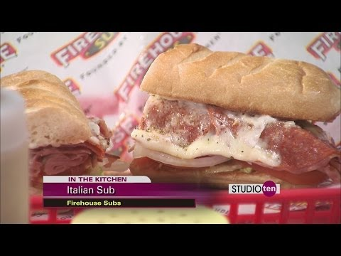 Firehouse Subs: Italian sub