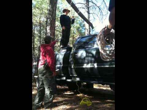 Building an Elk Hanger Time Lapse