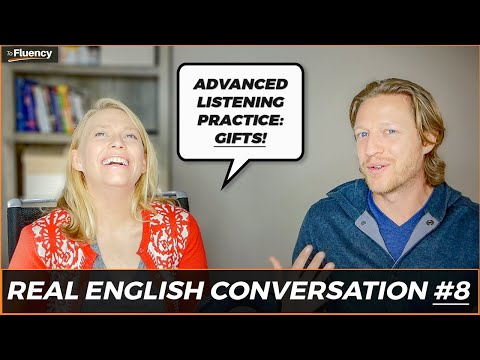 Talking About Gifts & Christmas in English | Advanced Conversation & Listening Practice 🇬🇧 🇺🇸