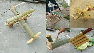 Download Creative handcraft make amazing use bamboo & wood , DIY 2019 Video