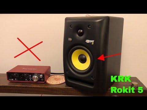 ✅  How To Use KRK Rokit 5 G3 Studio Monitor Speakers Review
