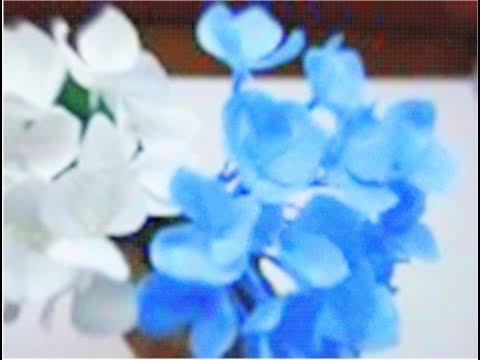 How to make Paper Flowers Hydrangea (Flower # 31)