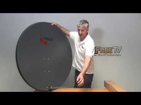 Overview of Triax TD110 110cm Satellite Dish