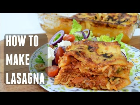 How to make Lasagna (Lasagne) | Indian Cooking Recipes | Cook with Anisa