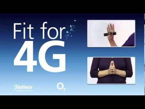 Get Fit for 4G with O2's New Ad