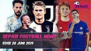 Juventus Kontrak De Ligt 5 Musim🔥Isco Di Incar Man City⚽️Berita Bola Terbaru Hari Ini