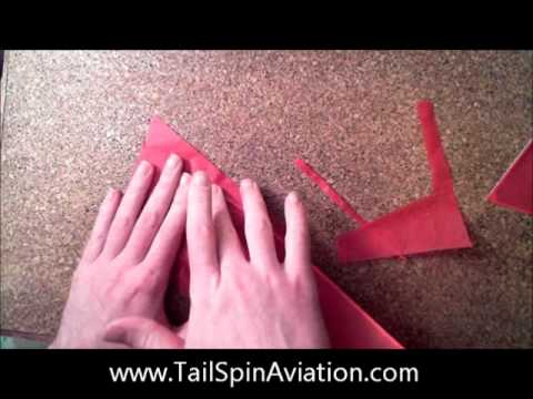 How to build a rubber powered model airplane part 3