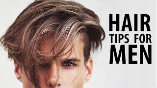 HEALTHY HAIR TIPS FOR MEN | HOW TO HAVE HEALTHY HAIR | Men