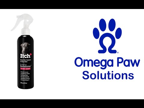 Relieve Your Dogs Itchy or Irritated Skin - Omega Paw Solutions Itch+