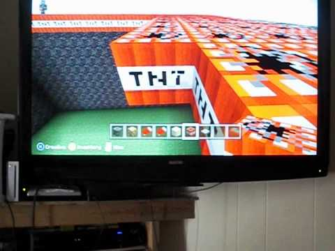 How to make a TNT run mini-game (Minecraft XBOX 360)