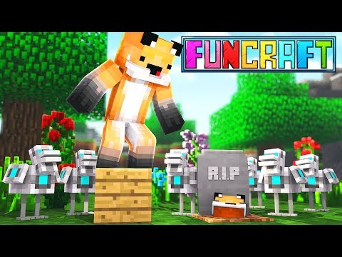 I GOT OP, THEN LOST EVERYTHING - Minecraft Funcraft EP 03
